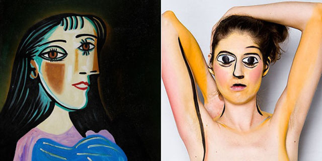 16 cool halloween costumes based on well known art history - Art Costumes Halloween