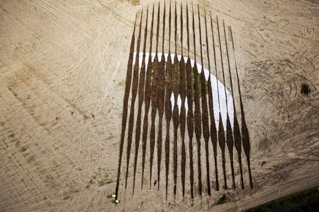 A Massive Land Art Portrait That Is Completely Astonishing