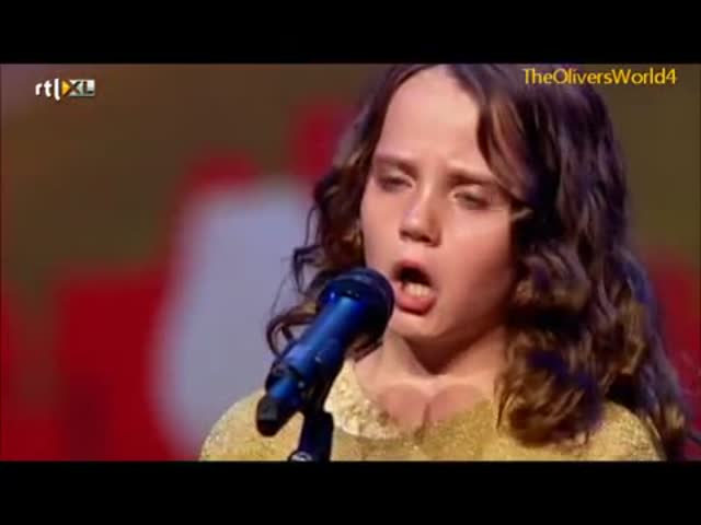 9-Year-Old Girl's Fantastic Opera Performance at Holland's Got Talent