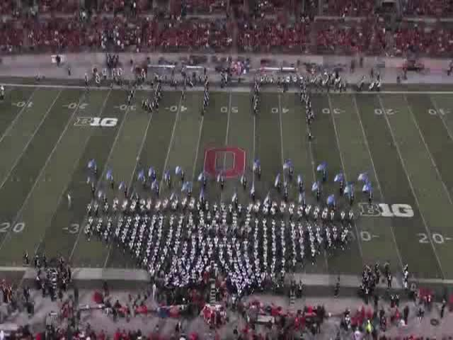 Ohio State Marching Band's Epic Tribute to Hollywood Blockbusters