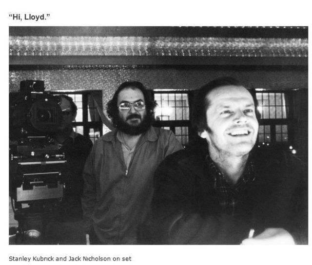 "On Set and Behind-the-Scenes of ""The Shining"""