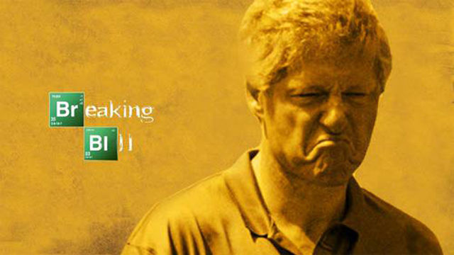 Photoshop Turns a Displeased Bill Clinton into Funny Spinoff Pics
