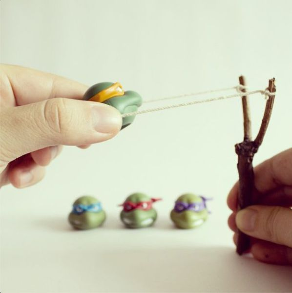 Simple Yet Effective Art Pieces Made from Everyday Items