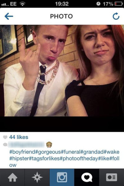 The Real People Who Actually Take Selfies at Funerals