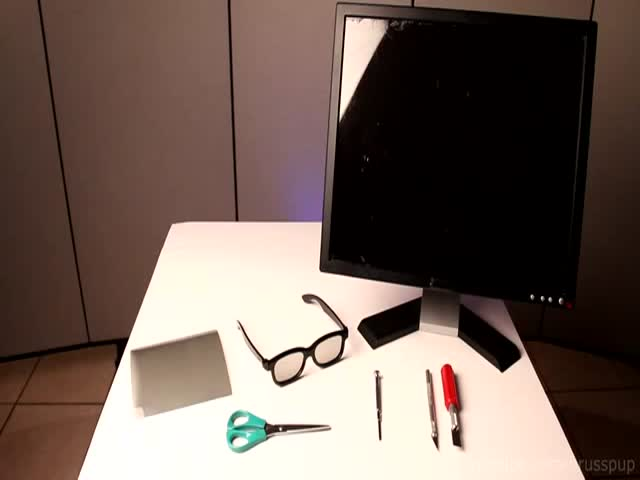 How to Make a Secret Monitor Screen Only You Can See