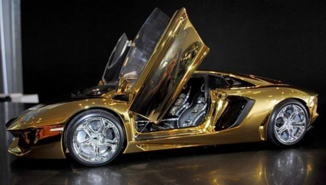 The Gold Lamborghini Model That Is Super Pricey