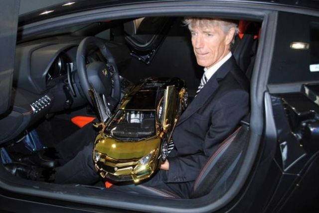 The Gold Lamborghini Model That Is Super Pricey