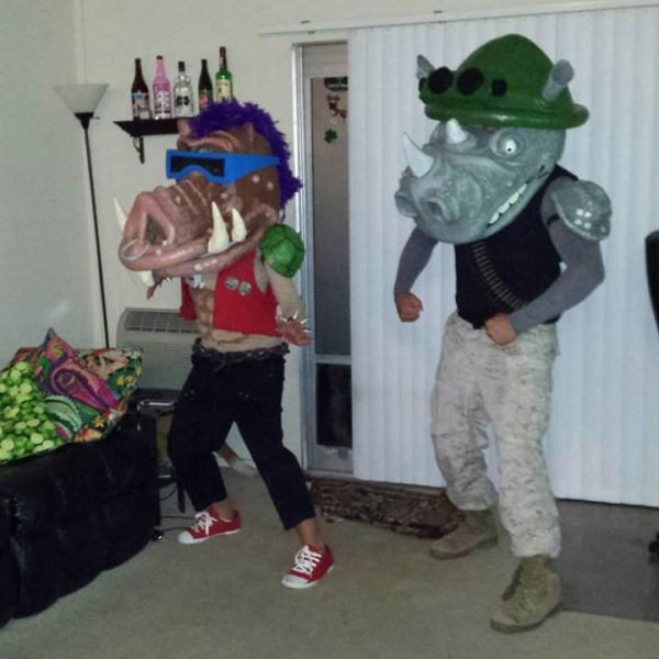 Fun Self-made Halloween Costumes