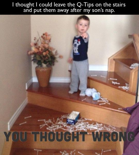Kids Really Are the Pits!