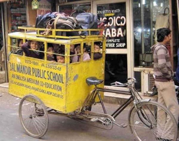 In India They Do Things Their Own Way