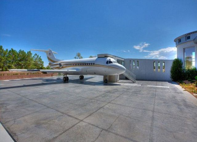 This House Is So Big That It Has Its Own Airport