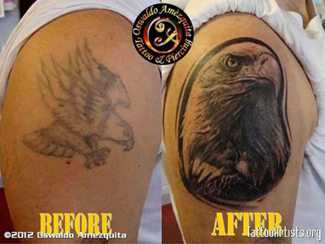Clever and Creative Cover-Up Tattoo Art