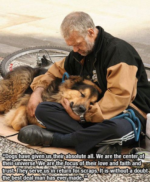 There Is Not Greater Friend to Man, Than His Dog
