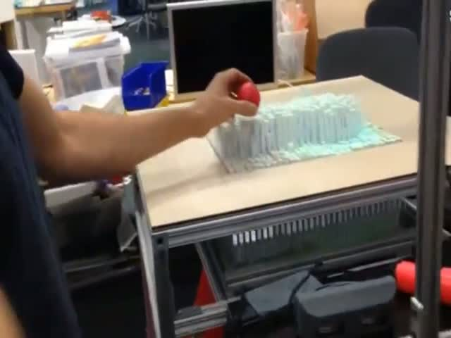 Awesome Morphing Table Surface