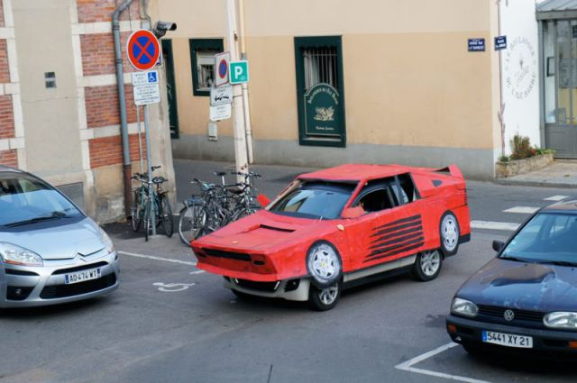 How to Instantly Convert Your Car into a Ferrari