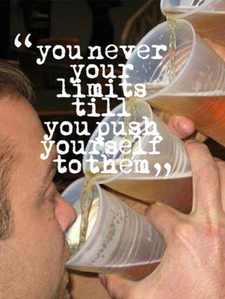 Fitness Quotes Become Hilarious When Coupled with Drinking Photos
