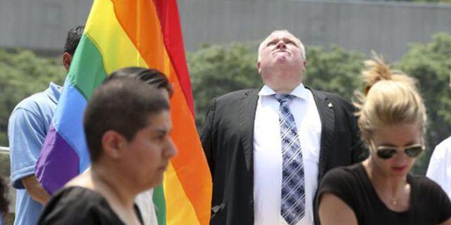 Photos of Toronto's Druggie Mayor