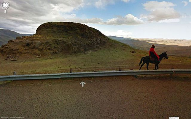 Pretty and Spectacular Google Street View Images