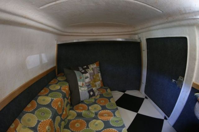 A Trailer That Is a Cosy Home for Two
