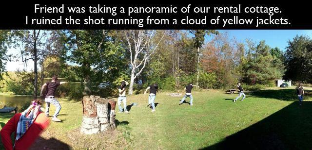 Hilarious Panoramic Photos Fails