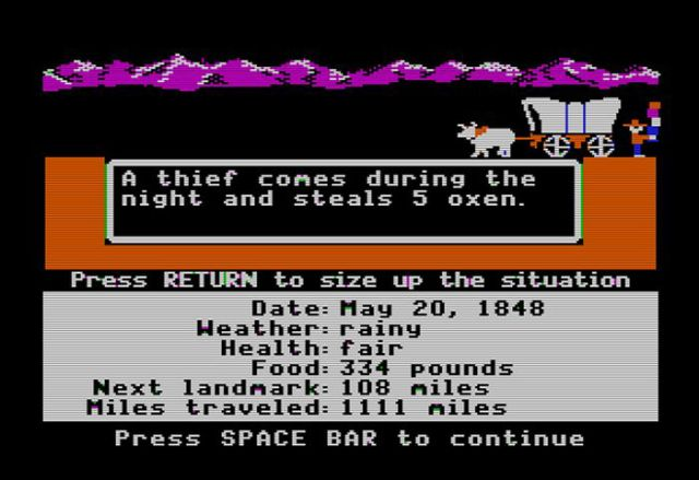 Remembering Oregon Trail through Pictures
