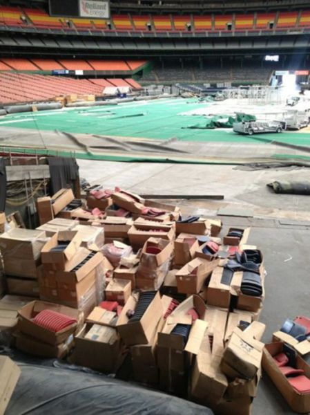 Houston's Gigantic Astrodome That's No Longer Used