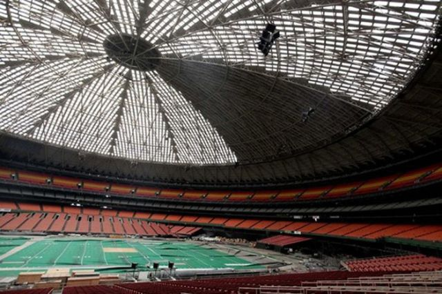 Houston's Gigantic Astrodome That's No Longer Used