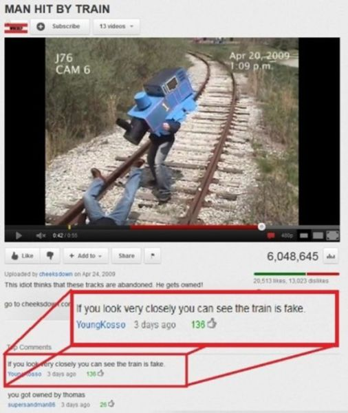 YouTube Comments That Will Tickle Your Funny Bone