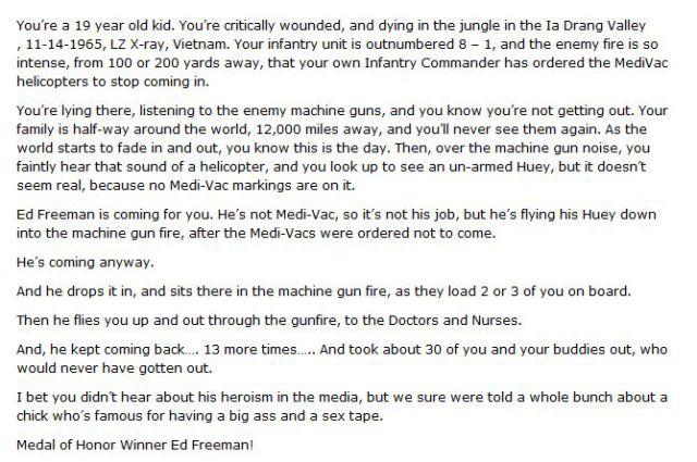 American Hero Ed Freedman's Real-Life Story