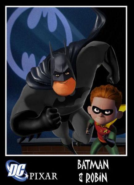 A Cool Marvel and Pixar Comic Mashup