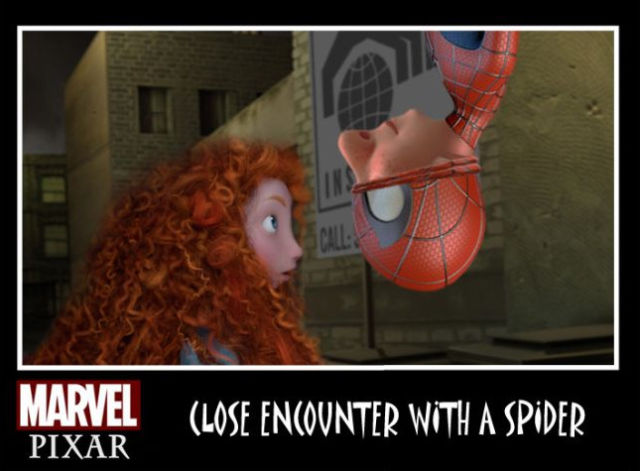 A Cool Marvel and Pixar Comic Mashup