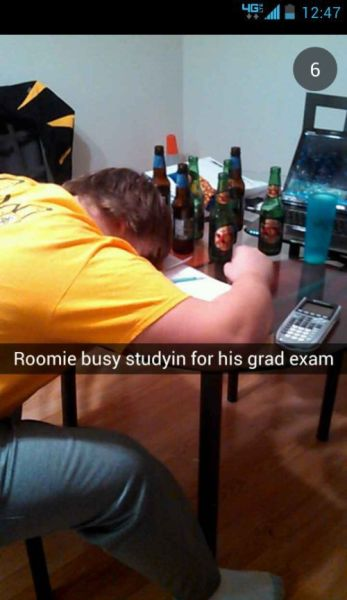 The Good Old College Days