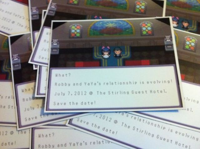 Wedding Invitation Designs That are Super Geeky