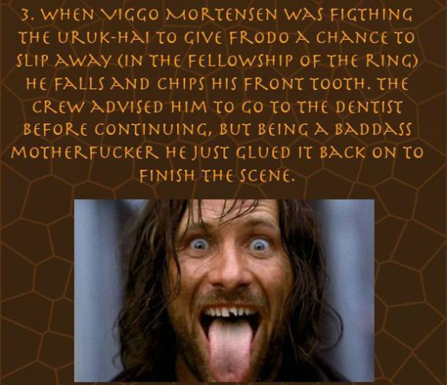 "Great Trivial Facts about ""The Lord of the Rings"""