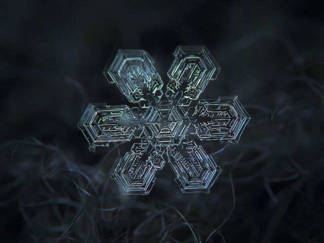Incredible Macro Photos of Snowflakes