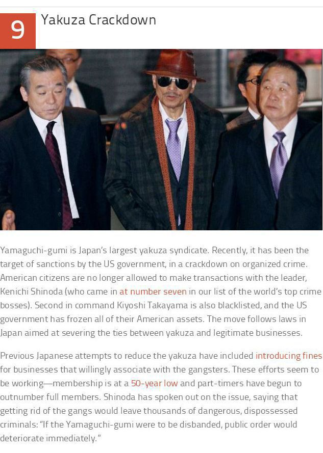 Things You Wouldn't Know about the Japanese Yakuza