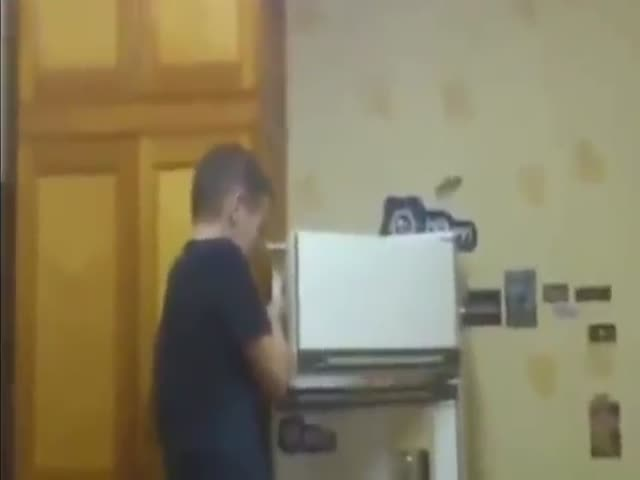 Firecracker vs Fridge
