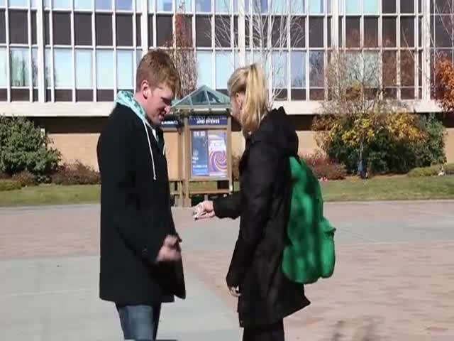 Reverse Pickpocketing