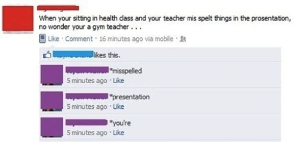 Bad Spelling Fails That Are Totally Hilarious