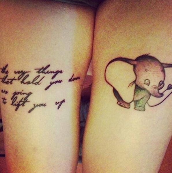 Disney-Themed Tattoos Done by Die-Hard Fans