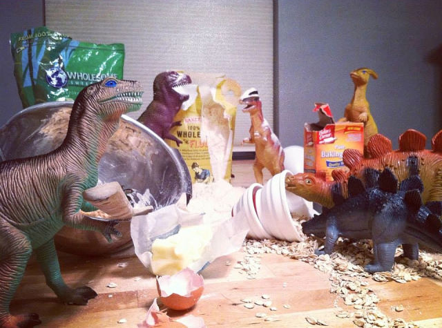 Quirky Parents Make Dinosaurs Come Alive for One Month a Year