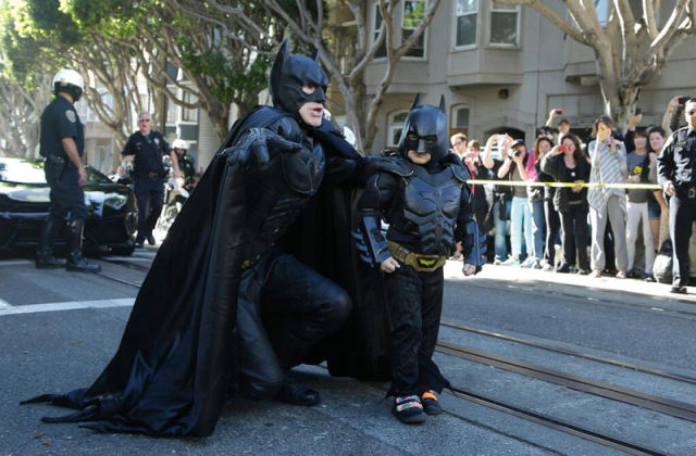 This Batkid becomes a Real-Life Superhero for a Day