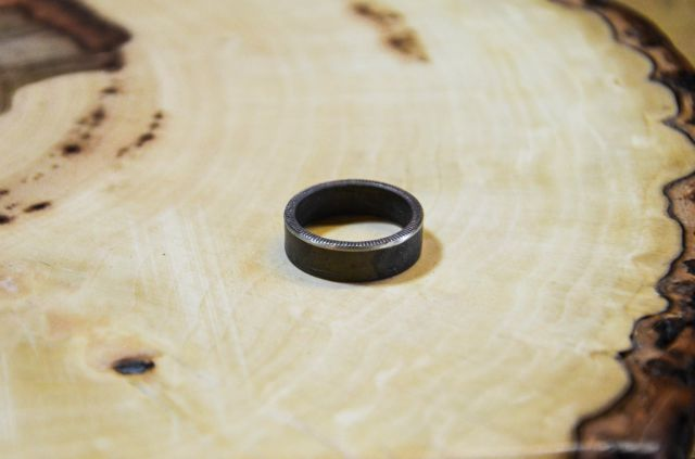 Make Your Own Beautiful Ring Out of a Coin