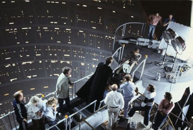 "On-Set Action Behind-the-scenes of the ""Star Wars"" Movies"