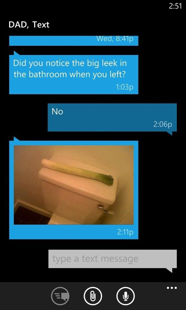 Some Small Laughs at the Expense of the Dad's in the World