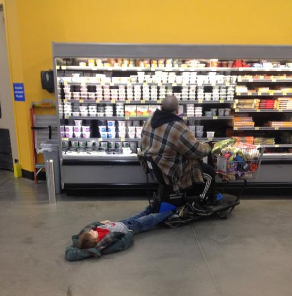 Walmart Unites all the Strangeness in America