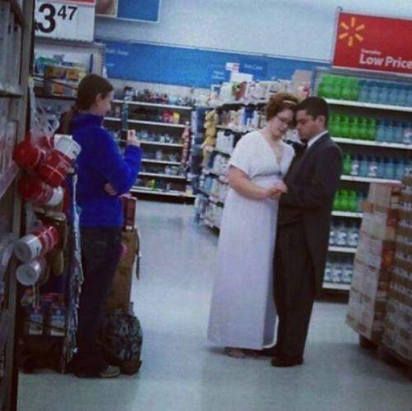 Walmart Unites all the Strangeness in America
