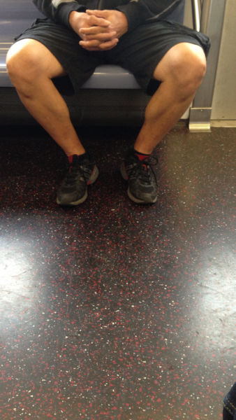 One Tumblr Feminist Takes a Swipe at Men on Trains