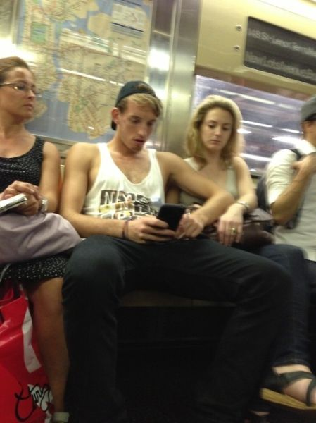 One Tumblr Feminist Takes a Swipe at Men on Trains