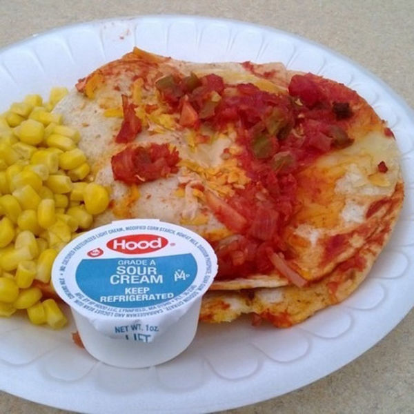 Completely Gross School Lunches in the US